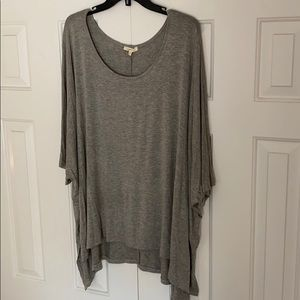 Mystree Lightweight Poncho Top